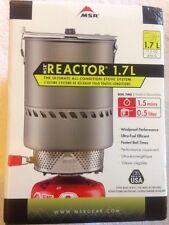 MSR Reactor Stove System 1.7 Liter Brand New In Box