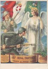 C2686) WW2, 119 REGGIMENTO FANTERIA EMILIA. VIAGGIATA CON POSTA MILITARE 137 A.