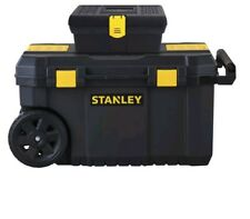 STANLEY STST61200 13 Gallon Rolling Chest + 13-Inch Tool Box A1A