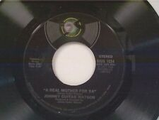 """JOHNNY GUITAR WATSON """"A REAL MOTHER FOR YA / NOTHING LEFT TO BE DESIRED"""" 45 NM"""