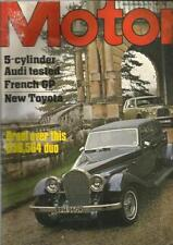 July Weekly Motor Magazines