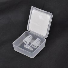 Silicona anti ronquidos diLatadores nasales dejar de roncar nariz clip sueño ^S