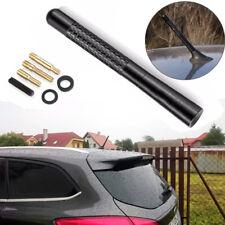 "Black Carbon Fiber Stubby Short Antenna 5"" Fits 94 08 Dodge RAM 1500 2500 3500"