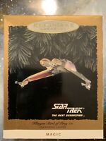 Hallmark Keepsake Ornament Magic Lights Star Trek Klingon Bird of Prey 1994