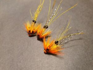 Cascade PBP Micro Salmon Tube Flies FREE stinger hooks