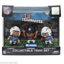 NFL Chargers Lil Teammates Lineman, Running Back, Referee Team Set