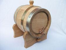 En bois 5 l litres Chêne keg barrel cask BOURBON eau-de-vie de vin Cadeau Noël