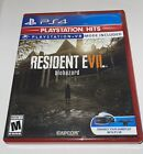 Resident Evil 7: Biohazard (Sony PlayStation 4, 2017) PS4 Tested & Works Great