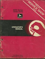John Deere Grain Drills 8000 Series Om-N159501 Issue A9 Operator's Manual