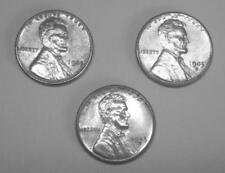 UNCIRCULATED LINCOLN STEEL CENT SET 1943-P / 1943-S / 1943-D