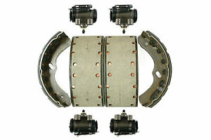 Isuzu Truck NPR / NQR 7.5T 4HK1 (2006->) Rear Brake shoes & Wheel cylinder Set