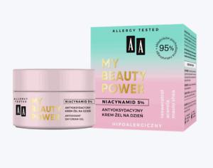 AA My Beauty Power 95% Natural Antioxidant Day Cream - Gel Niacinamide 50ml