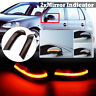 2x Dynamic Side Wing Mirror Indicator Turn Signal light For VW MK5 Golf