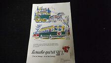 Buvard publicitaire la vache qui rit Serie complete - Les transports -