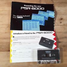 Yamaha PSR 6000 Demonstration Cassette And Promotional Pack Electronic Keyboard