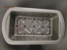 Non-Stick Two Piece Meat Loaf Pan Fat Drain