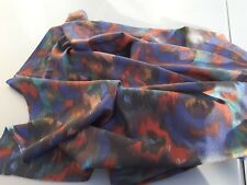 Coupon de tissu tres fin  etamine de laine couture