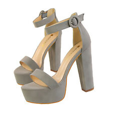 Women Platform Sandals Ankle Straps Strappy Open Toe High Heels Ladies Shoes