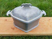 Gaurdian Service Alluminum Heart Shaped Pot Vintage Cookware Unique Cooking Pot