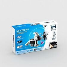 Brixo Maker 127 Piece Kit - Lego Compatible Electric Building Blocks