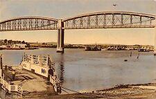 BR81336 sallash bridge and ferry plymouth   uk