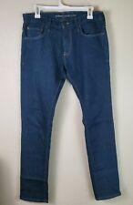 Old Navy Mens Size 32x32 Medium Wash Blue Skinny Jeans Stretch