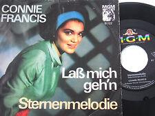 "7"" - Connie Francis - Laß mich geh´n & Sternenmelodie # 4488"