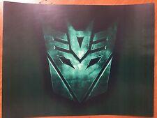 Tin Sign Vintage Transformers Decepticon 2