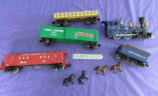 Lionel Train O Scale Lincoln Logs 9 Piece Western Railroad Set 2008 6-30034 Retd