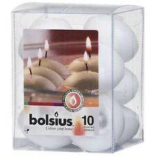 Decoración Bolsius color principal blanco para el hogar