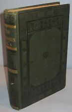 WORKS OF WILLIAM THACKERAY 1886 THE NEWCOMES MEMOIRS ANTIQUE BOOK 8/15