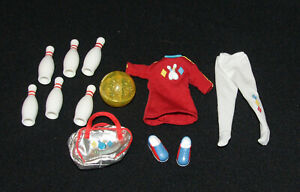 Barbie's Sister Stacie Friend WHITNEY'S Bowling Party Outfit & Accessories