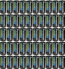 50 Pcs Panasonic CR123A 123A 3V Photo Lithium Batteries Exp 2028