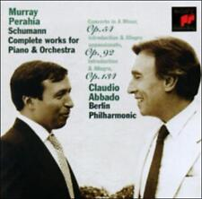 Schumann: Complete Works for Piano & Orchestra CD, Perahia Abbado Berlin