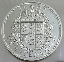 New Zealand 1937 Pattern Crown Proof Silver Coin Edward VIII