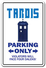 TARDIS Novelty Sign gift Dr. Doctor telephone for public use who pull to open