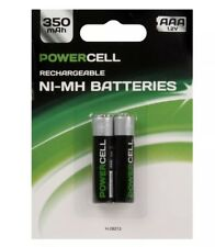 Rechargeable AAA Batteries 350 mAh - 2 Pack powercell