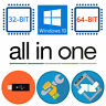 Windows 10 USB All Versions 32/64 Restore Repair Install Upgrade 16GB Kingston