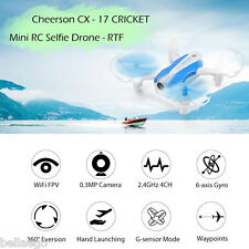 Cheerson CX - 17 CRICKET Mini RC Selfie Faux-bourdon RTF Wi-Fi FPV 0.3MP Caméra