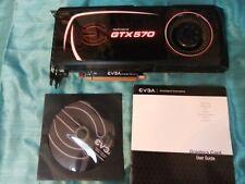 NVIDIA GTX 570 EVGA GEFORCE 1.25 GB GDDRS PCI-E  GPU VIDEO GRAPHICS CARD+CD/MANU