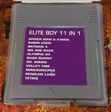 11 in 1 multicart for Nintendo GameBoy Game Boy / Color / Pocket Rare