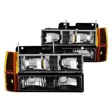 Spyder Auto Crystal Headlights For 1994-1998 GMC C/K #9034442