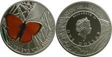 "One Dollar  Niue 2011 series batterfly""  SCARCE COPPER"""