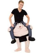 Adult Piggy Back Carry Sumo Wrestler Fancy Dress Mascot Costume Funny Japan