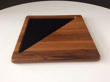 """Vintage George Briard """"Simplicity Line� Solid Teak Cheese Board"""