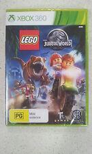 Lego Jurassic World Xbox 360 Game PAL (NEW)