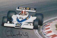 Ian Ashley Hand Signed 12x8 Photo Formula 1 F1 5.