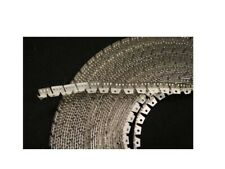 25' FLEXIBLE METAL TACK STRIP upholstery (Curve-Ease) three-tooth- Made In USA