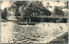 QUAKERTOWN PA BUCKS COUNTY TOHICKON CREEK VINTAGE POSTCARD