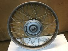 Harley-Davidson OEM Front Wheel B C DL Pup Single Kelsey Hayes Peashooter